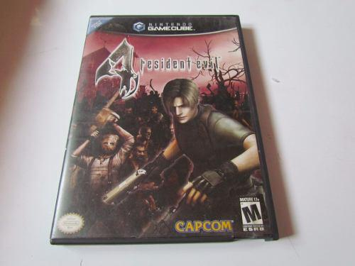 Resident Evil 4 Gamecube 2 Discos Completo Seminuevo