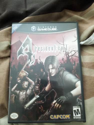 Resident Evil 4. Gamecube. Discos Y Caja.