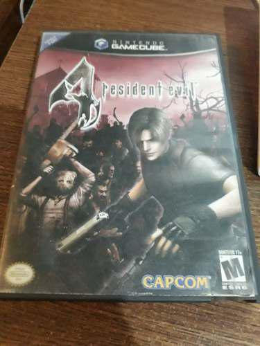Resident Evil 4 Gamecube _ Trosty House Games And Comics