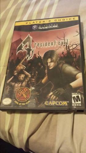 Resident Evil 4 Nintendo Gamecube