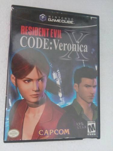 Resident Evil Code Veronica X Gamecube Nintendo Game Cube Re