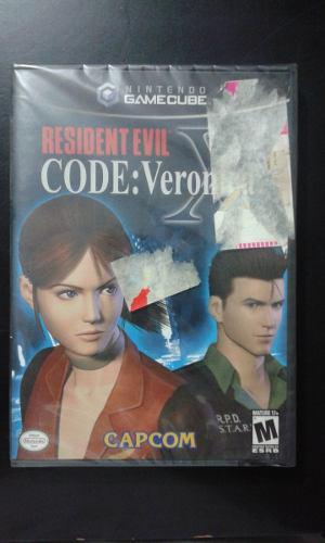 Resident Evil Code Veronica X Nintedo Gamecube