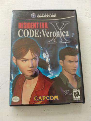 Resident Evil Code Veronica X Nintendo Game Cube Original
