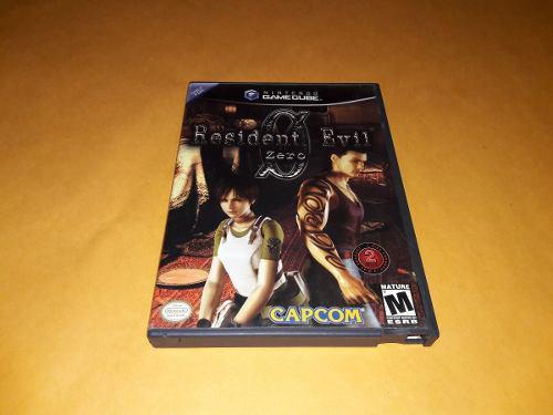 Resident Evli 0 Nintendo Game Cube 1ra Edicion Buen Estado