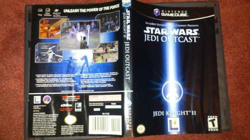 Star Wars Jedi Outcast Para Nintendo Game Cube