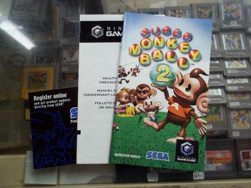 Super Monkey Ball 2 Gamecube Solo Manual O Instructivo