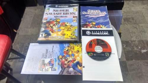 Super Smash Bros Completo Para Nintendo Game Cube