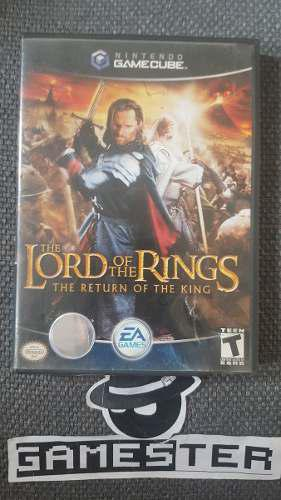 The Lord Of The Rings The Return Of The King Gamecube