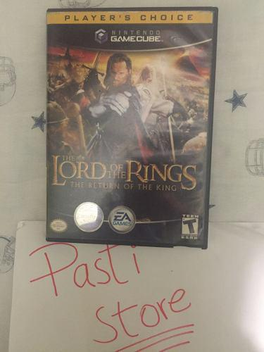 The Lord Of The Rings The Return Of The King Para Game Cube