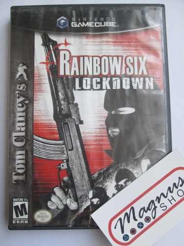 Tom Clancys Rainbow Six Lockdown Para Nintendo Gamecube Ngc
