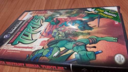 Tortugas Ninja Teenage Mutant /// Ngc Gamecube // Nintendo