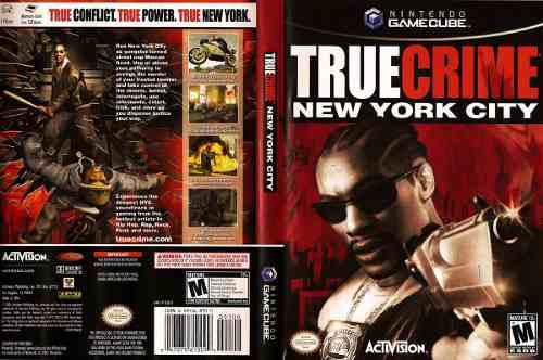 True Crime New York City Game Cube Game Cube Wii