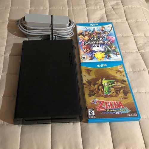 Wii U 32 Gb Con 2 Juegos Envío Gratis