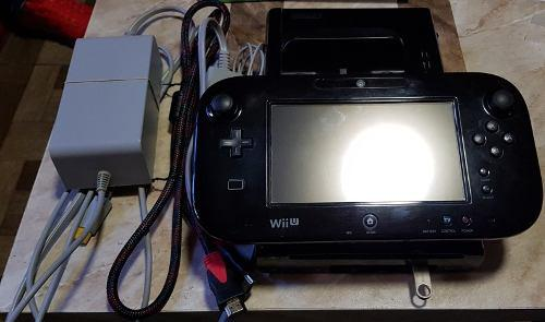 Wii U Con Chip Memoria Usb De 32 Y Juegos.