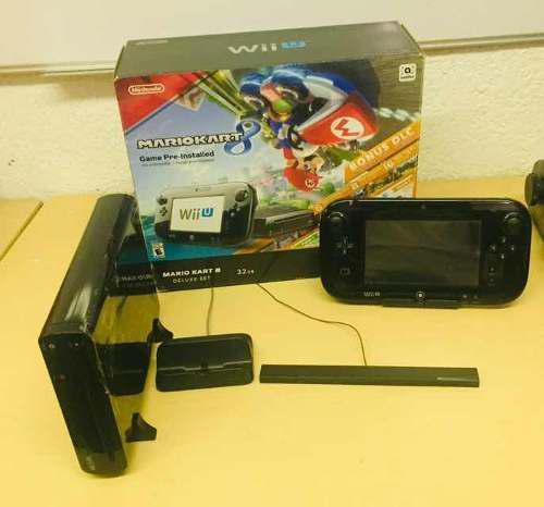 Wii U Con Mario Kart 8 Y Súper Mario Galaxy