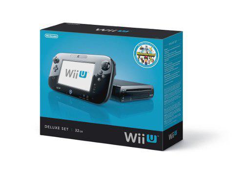 Wii U Deluxe Set Con Chip 49 Juegos Y Disco Duro De 500gb