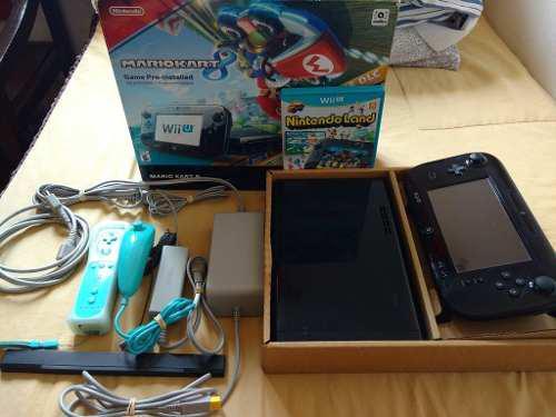 Wii U Mario Kart 8 Con Caja, Control Y 15 Juegos Integrados