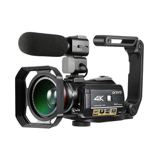 Ordro Ac3 4k Wifi Digital Vídeo Cámara De La Videocámara