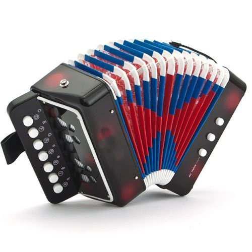 Sky Accordion Instrumento De Música Para Niños Con 2 Bajo
