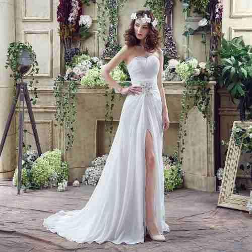 Vestido De Novia Ajustable Con Envio Gratis W-20251