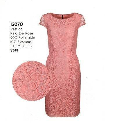 Vestido Rinna Bruni Palo De Rosa 130-70.outlet/saldos Mchn