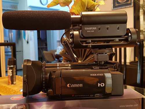 Videocamara Canon Hf M50 Calidad Profesional Full Hd Wifi