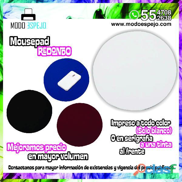 Mouse pads promocionales sublimados URGENTES