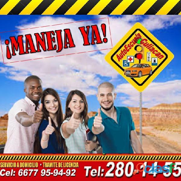Clases de manejo en Culiacán, obtén un descuento en tu