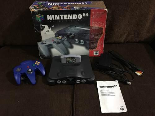 Consola Nintendo 64 / N64 Completa Con Caja Excelente Estado