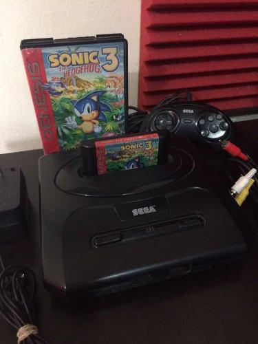 Consola Sega Original Retro Vintage Completa Sonic Sega