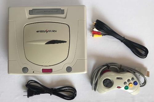 Consola Sega Saturn Retro Blanca Vintage Multiregion
