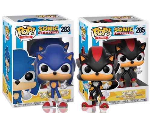 Funko Pop De Sonic Y Shadow
