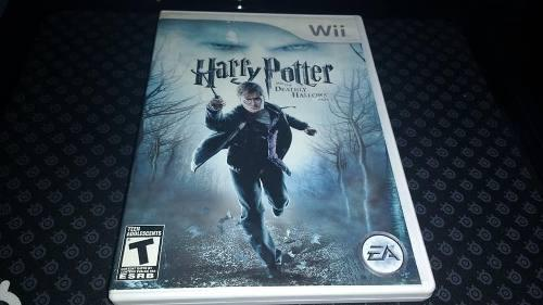Harry Potter And The Deathly Hallows Part 1 Wii Completo.