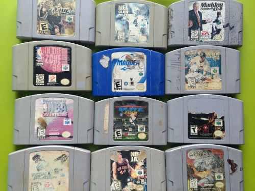 Lote De 12 Juegos Nintendo 64