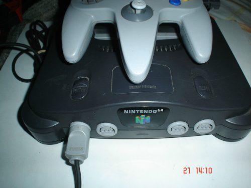 Nintendo 64 + 3 Juegos Rampage Top Gear Lambhorgini N64 1b