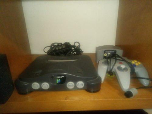 Nintendo 64 Con 4 Juegos Y Un Control