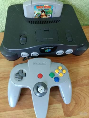 Nintendo 64 Consola Con Juego Diddy Kong, Con Garantía