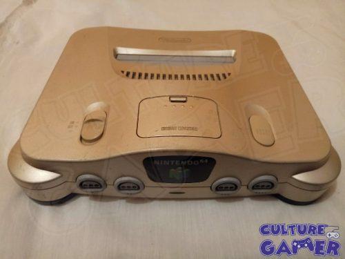 Nintendo 64 Dorado Gold Muy Buenas Condiciones Culture Gamer