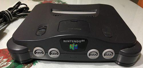 Remate Excelente Consola Nintendo 64 Con Accesorios Y Juegos