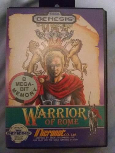 Warriors Of Rome Sega Genesis