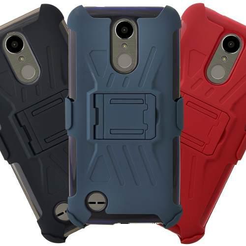 Funda Case Uso Rudo Clip Colores Lg K10 2017 M250 K20 Plus