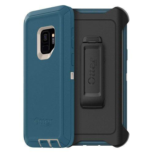 Funda Holster Clip Galaxy S9 Normal Otterbox Defender Azul
