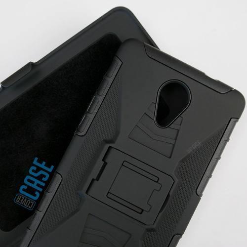 Funda Protector Con Clip Uso Rudo Lanix Ilium X710