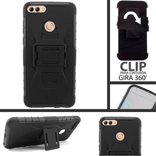 Funda Protector Uso Rudo Clip Huawei Y9 2018 C/envio Calidad