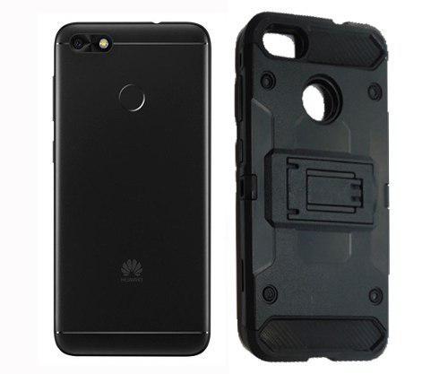 Funda Uso Rudo Robot Case Clip Huawei G Elite Plus Vidrio
