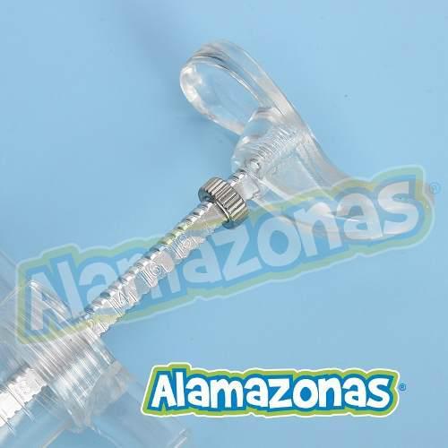 Kit Jeringa Veterinario Con 6 Puntas Acero Inox Alamazonas