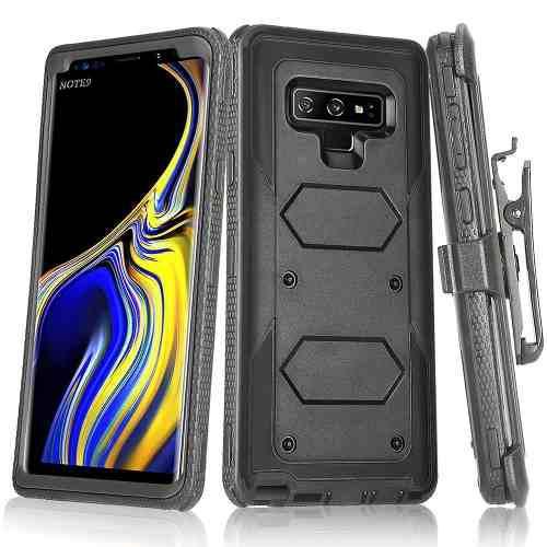 Samsung Galaxy Note 9 Shockproof Holster Belt Clip Funda