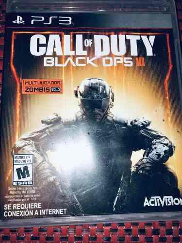 Call Of Dutty Black Ops 3 Usado En Excelente Estado Ps3