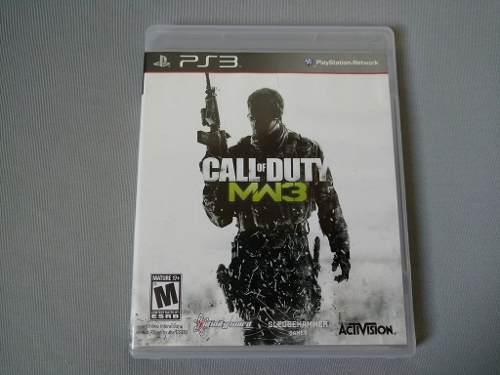Call Of Duty Mw3 Modern Warfare 3 Original Para Ps3
