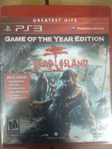 Dead Island Game Of The Year Edition.-ps3